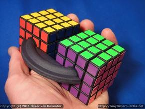 Cubes on a Disk in White Strong & Flexible