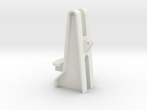 Mast foundation 1:100 in White Natural Versatile Plastic