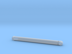2 mm Inner Diameter Piston/Cylinder Assembly  in Smooth Fine Detail Plastic