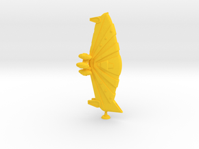 Kukulkan Class Monitor - 1:20000 in Yellow Processed Versatile Plastic