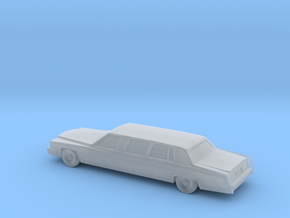 1/220 1979 Cadillac Fleetwood Custom Limousine in Frosted Ultra Detail