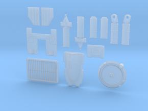 QuadGreebles in Smooth Fine Detail Plastic
