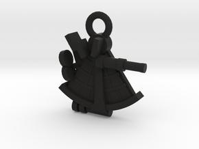 boOpGame Shop - The Sextant in Black Premium Versatile Plastic