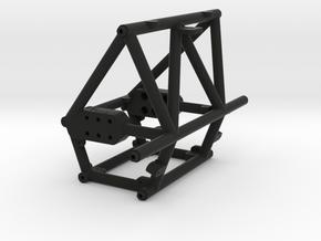 Axial Wraith Fastback Full Conversion kit V2 in Black Natural Versatile Plastic