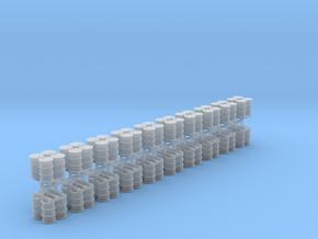 200 Liter 4 Fässer auf Europalette 20er Set - 1:87 in Smooth Fine Detail Plastic