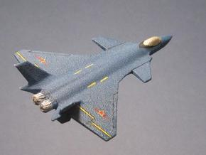 1/285 (6mm) J-20 Chinese in White Strong & Flexible