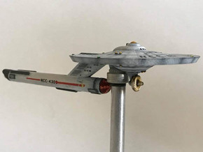 3125 Scale Federation Guided Weapons Destroyer WEM in Smooth Fine Detail Plastic