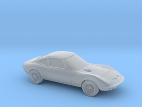 1/220 1968-73 Opel GT in Smooth Fine Detail Plastic