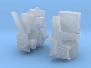 Venomous Prime Head - Undamaged in Smooth Fine Detail Plastic: Medium