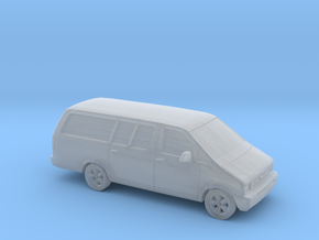 1/120 1986-95 Ford Aerostar Extendet in Smooth Fine Detail Plastic