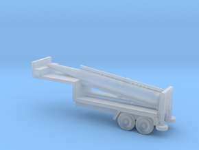 1/285 Scale Pershing Missile Tailer in Smooth Fine Detail Plastic