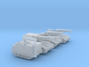 1/285 Scale Armored Recovery Vehicles in Smooth Fine Detail Plastic