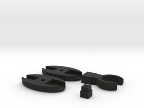 SCUBA - Rope Type - LP Hose Clip in Black Natural Versatile Plastic
