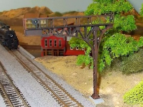 N Scale Signal Cantilever Searchlight Lefthand in Smooth Fine Detail Plastic