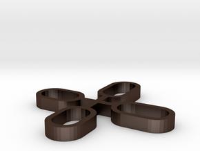 171114_colisos metalicos para rodamientos de ejes  in Matte Bronze Steel