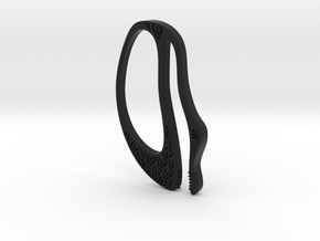 """Seigaiha"", Pinch Holders in Black Premium Versatile Plastic"
