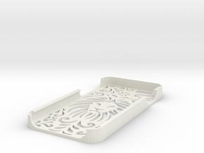 Lion Floral Iphone Case 6/6s in White Natural Versatile Plastic
