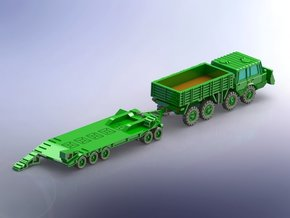 Czech Tatra 813 w. P-50 Tank Trailer 1/144 in Frosted Ultra Detail