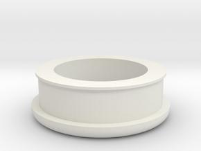 Picnic Table Umbrella Spacer (Full) in White Natural Versatile Plastic