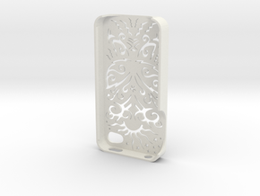 Butterfly Iphone Case 4/4s in White Natural Versatile Plastic