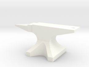 Anvil in White Processed Versatile Plastic