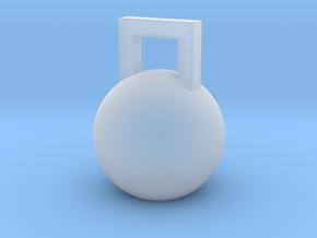 Mini Kettleball in Smooth Fine Detail Plastic