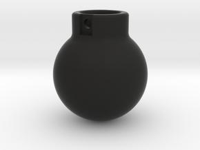 1-50 - 2000KG- Wrecking Ball - Ball Shape in Black Natural Versatile Plastic