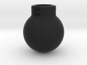 1-50 - 5000KG- Wrecking Ball - Ball Shape in Black Natural Versatile Plastic