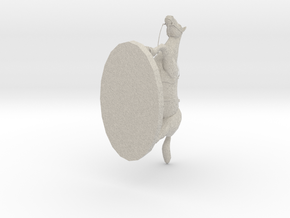 Risk Horse Paperweight in Natural Sandstone: Small