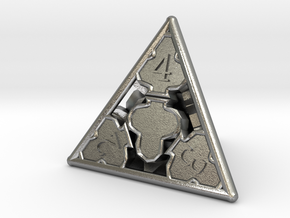 D4 Balanced - Cards in Natural Silver