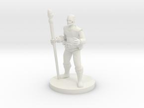 Warforged Druid in White Natural Versatile Plastic