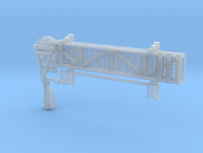 1:144 scale Walkway - Port - Short in Smooth Fine Detail Plastic