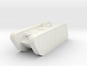 1/100 Trench Tank APC in White Natural Versatile Plastic