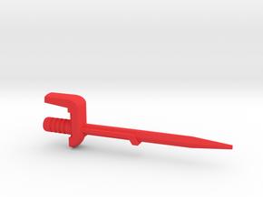 Dinobot Slash's Sword (PotP) in Red Strong & Flexible Polished: Large