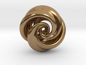Integrable Flow (7, 2) in Natural Brass