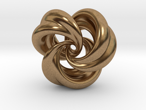 Integrable Flow (5, 3) in Natural Brass