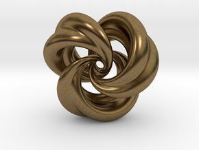 Integrable Flow (5, 3) in Natural Bronze