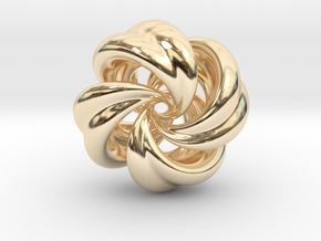 Integrable Flow (5, 4) in 14K Yellow Gold