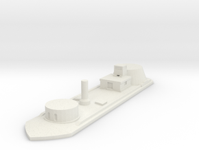 USS Osage 1/600 in White Natural Versatile Plastic
