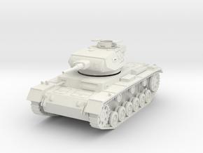 PV156E Pzkw IIIG Medium Tank (1/30) in White Natural Versatile Plastic