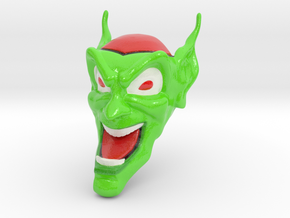 Goblin Mask Maximum Overdrive in Glossy Full Color Sandstone