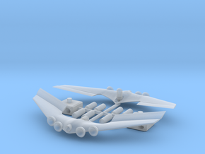 1/48 Takara Asurada GSX Upgrade Parts in Smooth Fine Detail Plastic