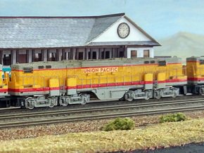 N Scale Alco C-855B Locomotive Shell Deluxe in Smooth Fine Detail Plastic