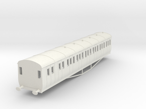 o-87-gwr-artic-main-l-city-brake-third-1 in White Natural Versatile Plastic