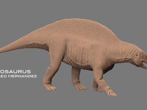Lotosaurus 1:10 v1 in White Natural Versatile Plastic