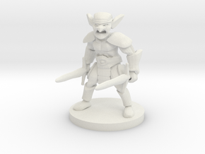 Goblin Barbarian in White Natural Versatile Plastic