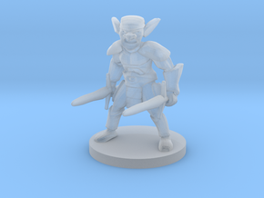 Goblin Barbarian in Smooth Fine Detail Plastic