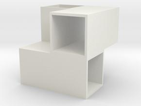 pen stand in White Natural Versatile Plastic