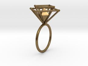 Crazy diamond size 54 in Natural Bronze