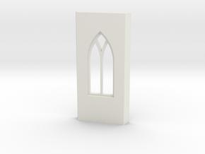shkr011 - Teil 11 Seitenwand mit Fenster in White Natural Versatile Plastic